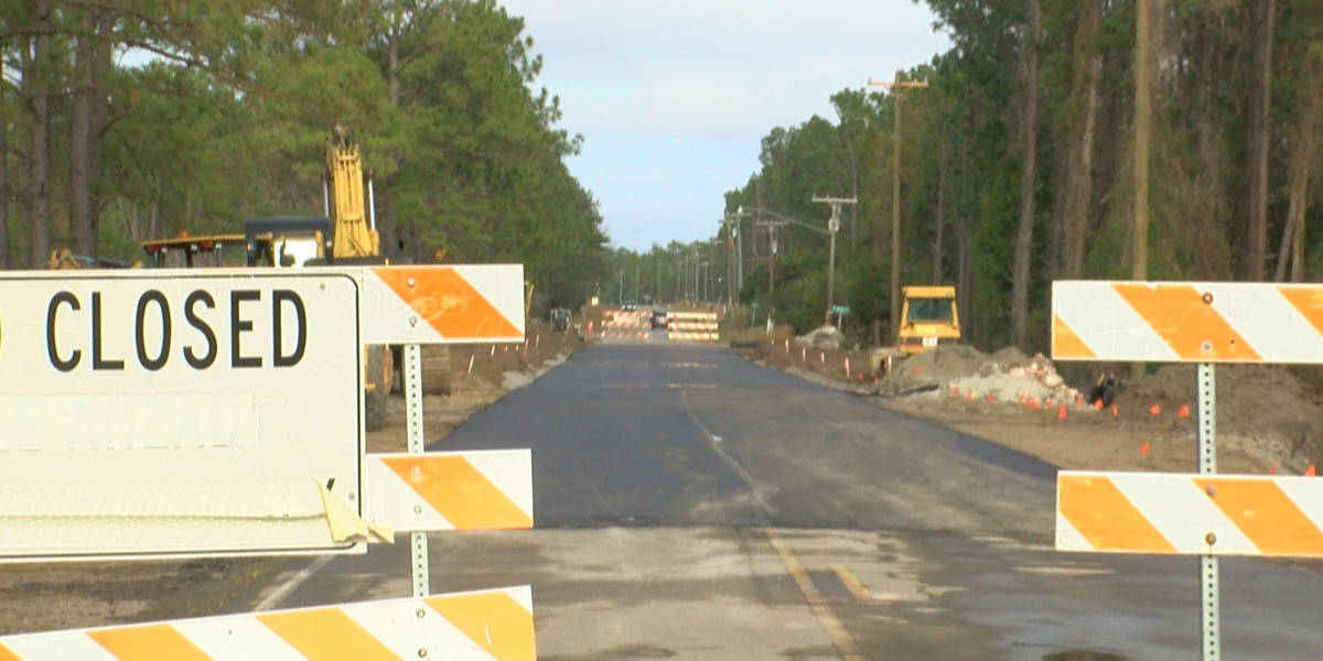 East Boiling Spring Road opened Monday, but construction planned again in March