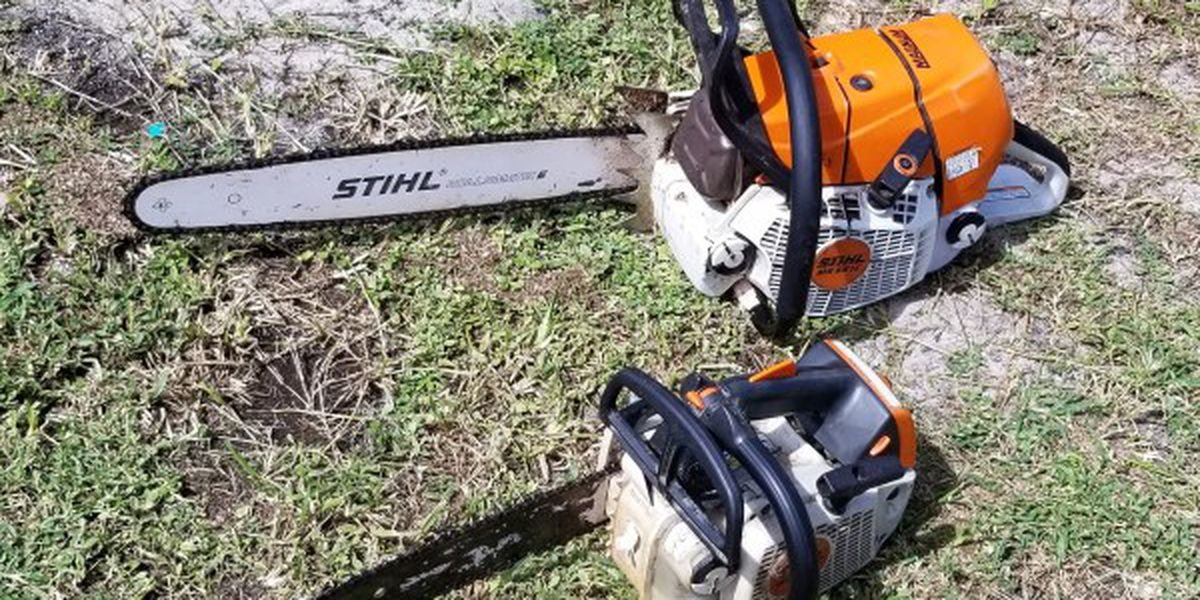 From chainsaws to fire ants, Pender County urges caution while cleaning up after the storm