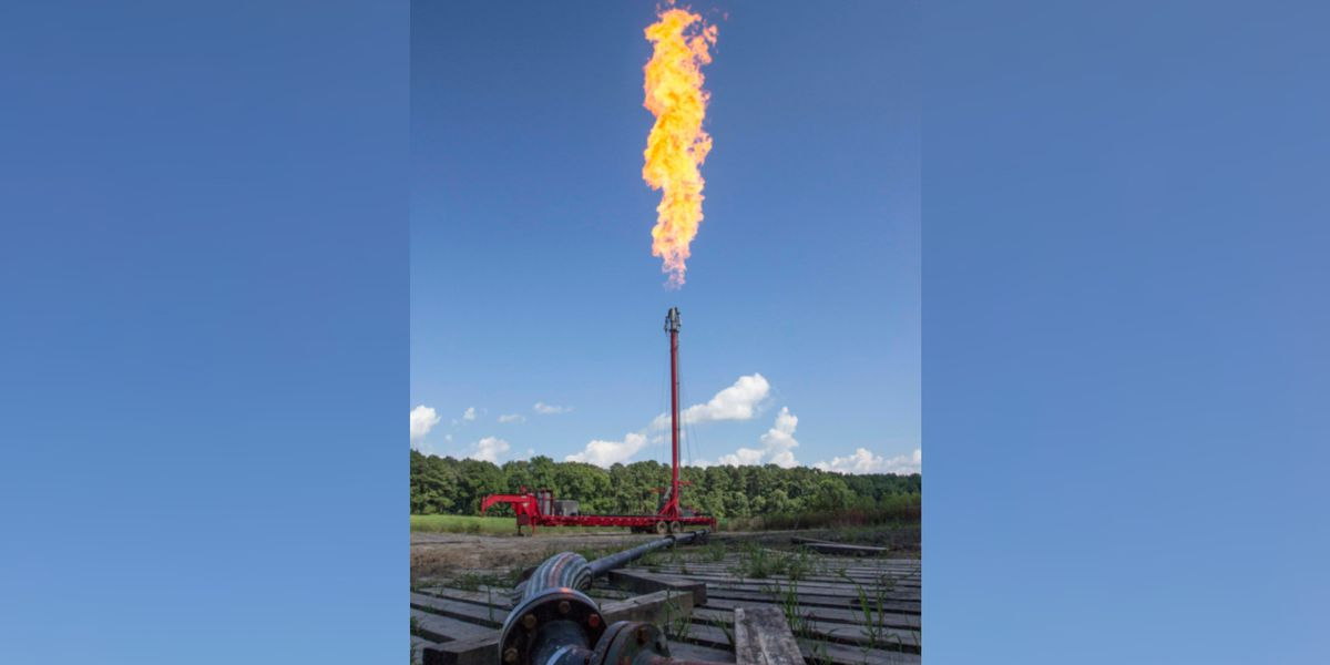 Routine pipeline maintenance in Riegelwood next week may produce loud noises, tall flames