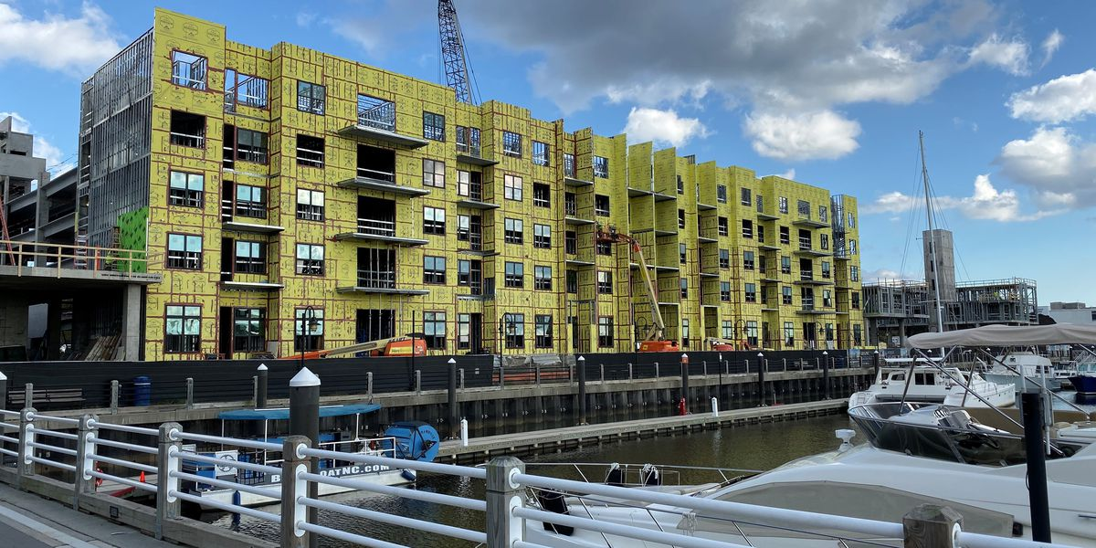 Downtown Wilmington's residential population set to double with current construction