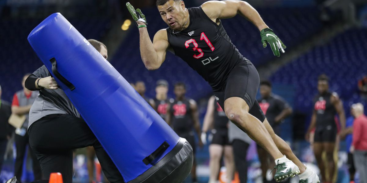Former Ashley standout Alex Highsmith selected in NFL draft by Steelers