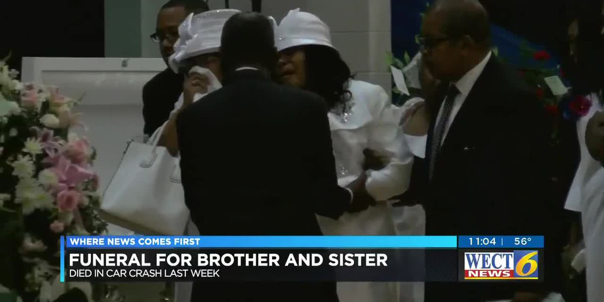 Funeral held for Pender County brother and sister who died in crash