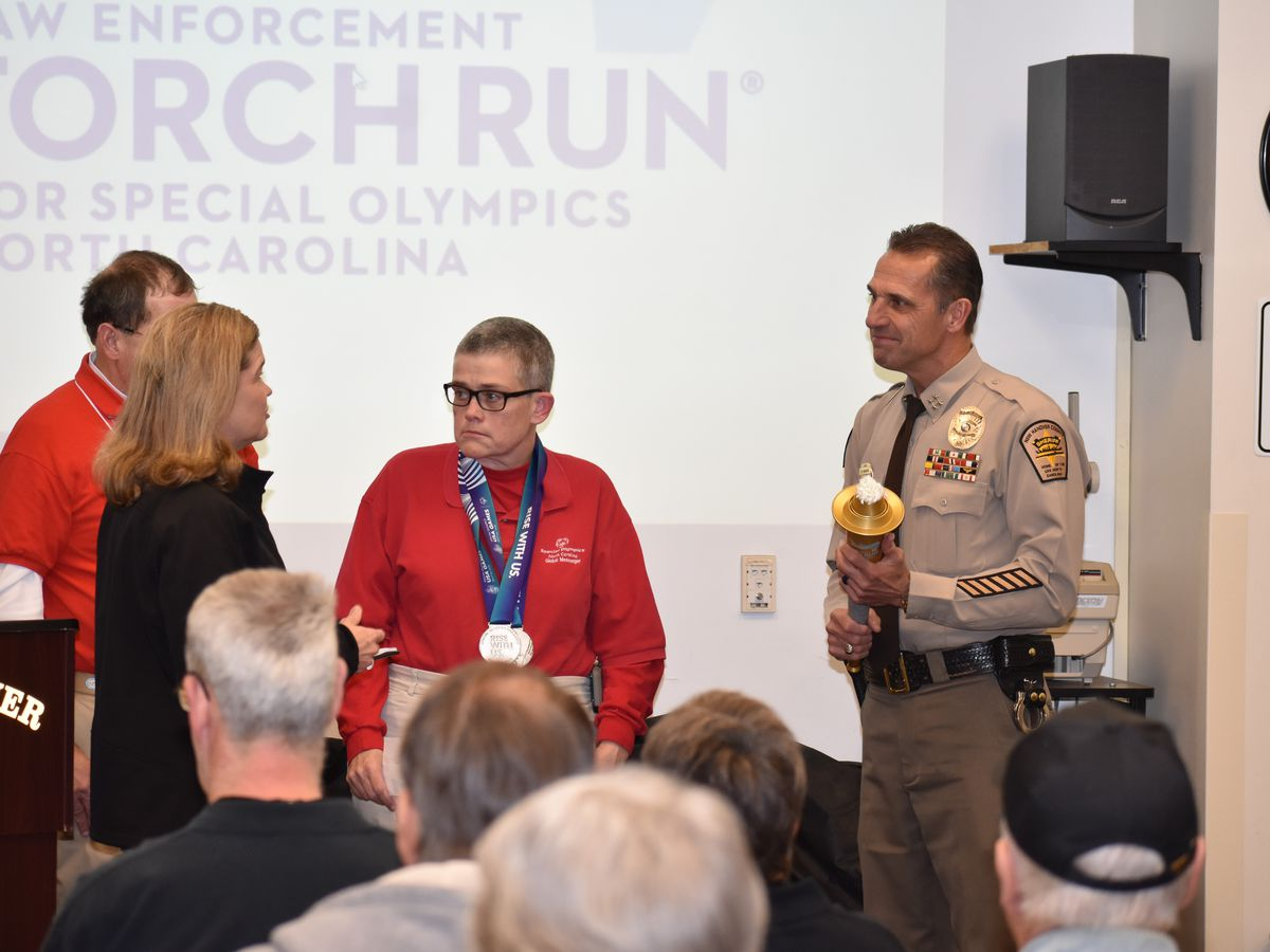 NHC sheriff recognized by Special Olympics North Carolina