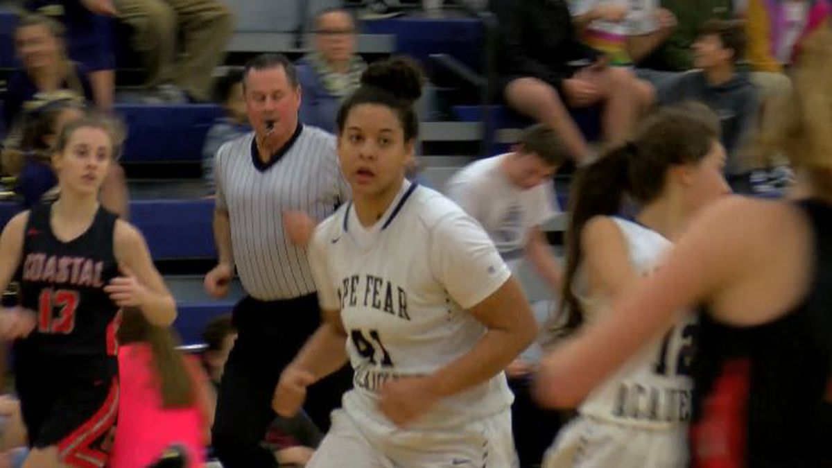 Cape Fear Academy's Kaia Simpson named WECT Athlete of the Week