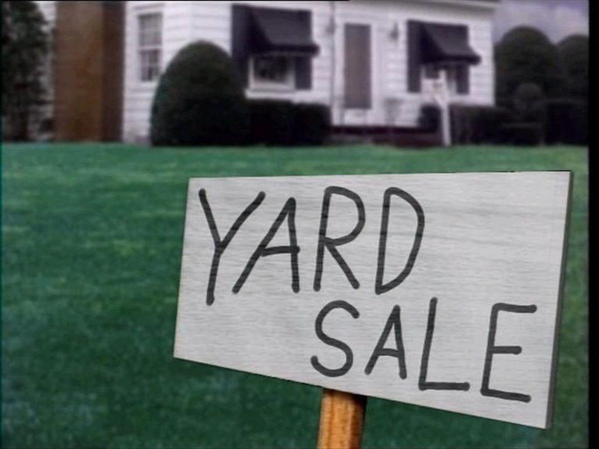 Yard sales November 10