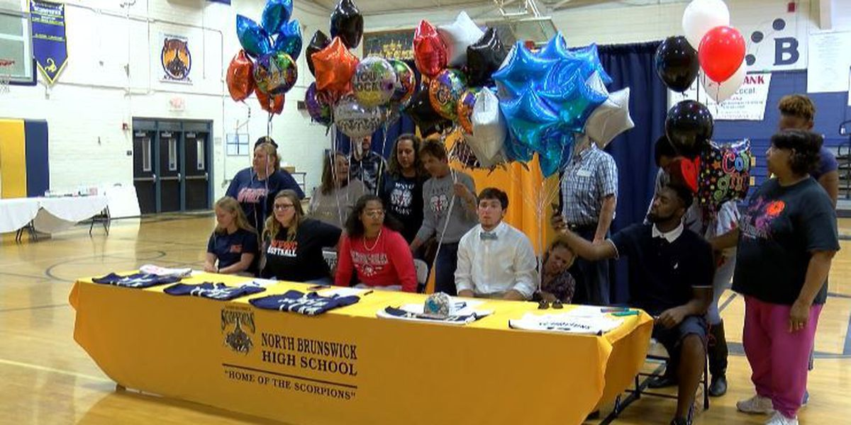 Five sign letters of intent at North Brunswick