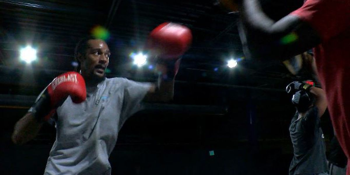 Wilmington's James Brown trying to make a name in kickboxing