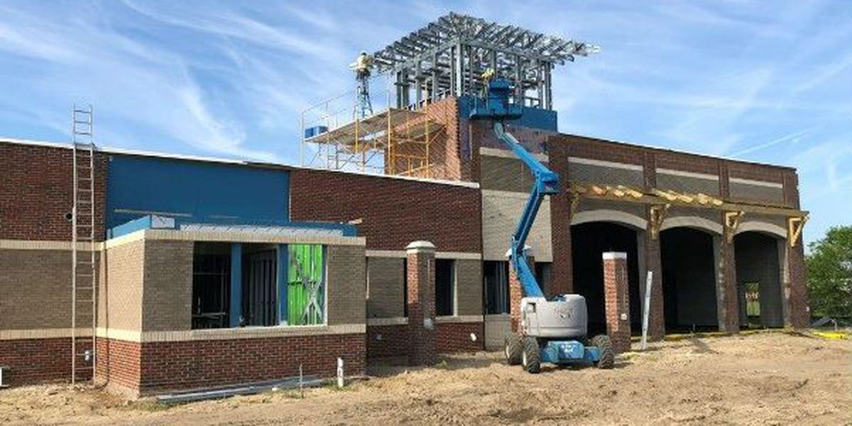 Crews make progress on construction of WFD's future Station 5