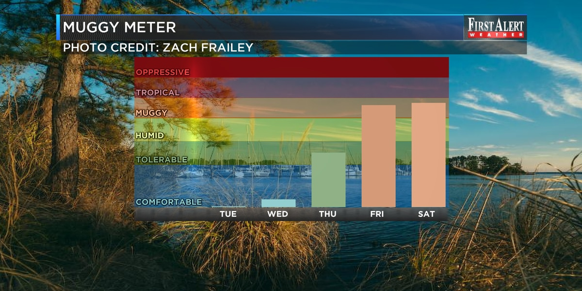 First Alert Forecast: skies trending drier after many Sunday storms