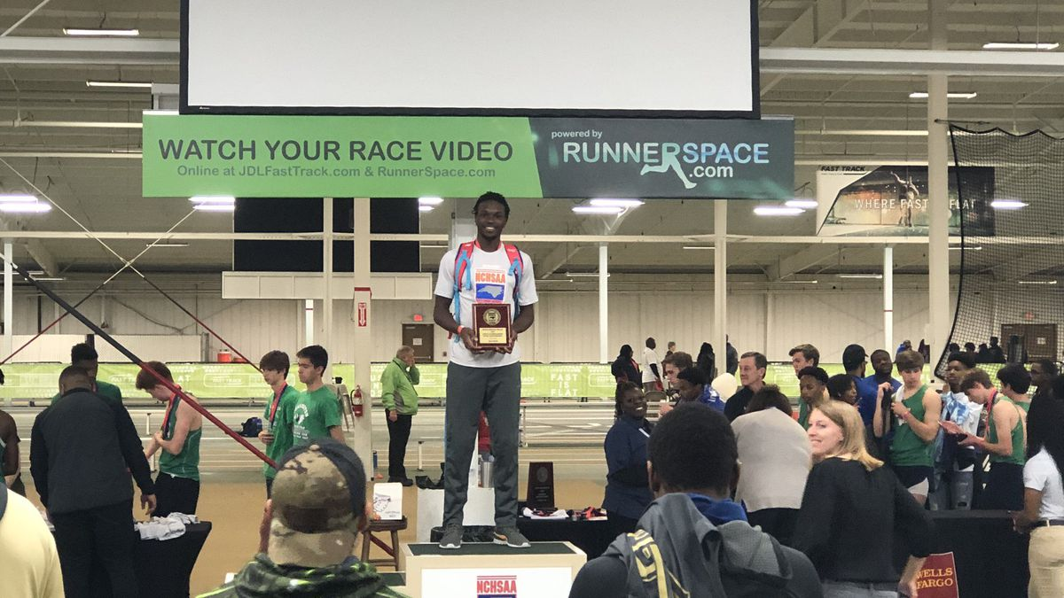 North Brunswick's Jieem Bullock named 3A indoor track most outstanding performer