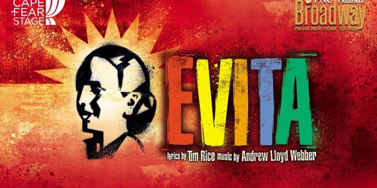 Evita Tickets Facebook Giveaway 1/03/2019