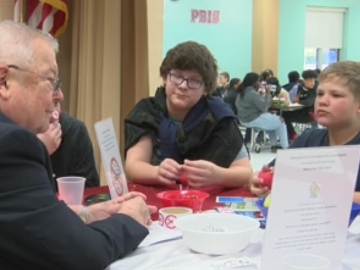 Kiwanis host weekly listening post at Southport middle school