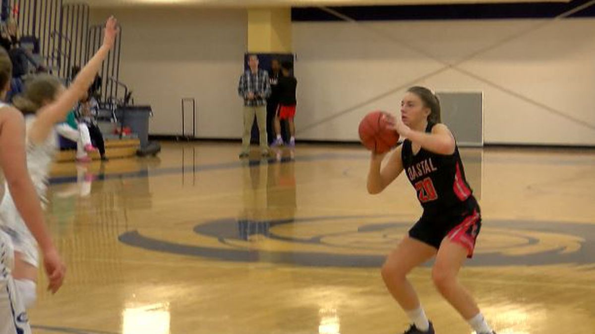 Coastal Christian High School's Olivia Edwards named WECT Athlete of the Week