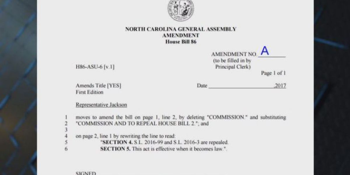 Amendment to repeal HB2 blocked in state House