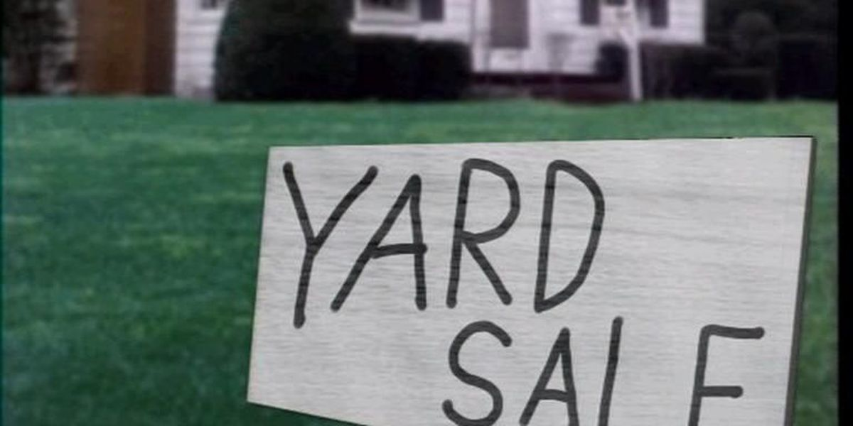 Yard sales for March 30