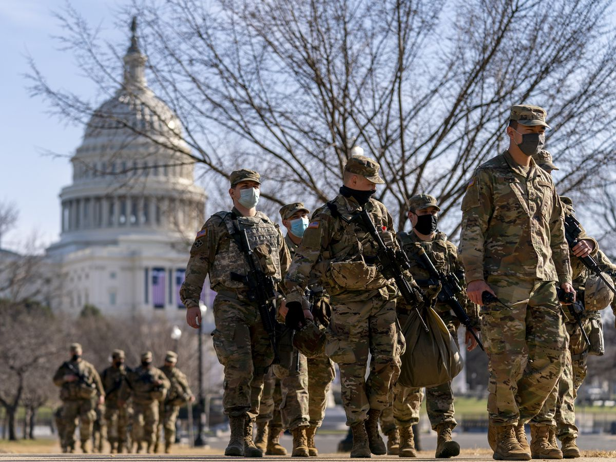 Gov. Cooper increases NC National Guard troops to 300 for inauguration at US Capitol