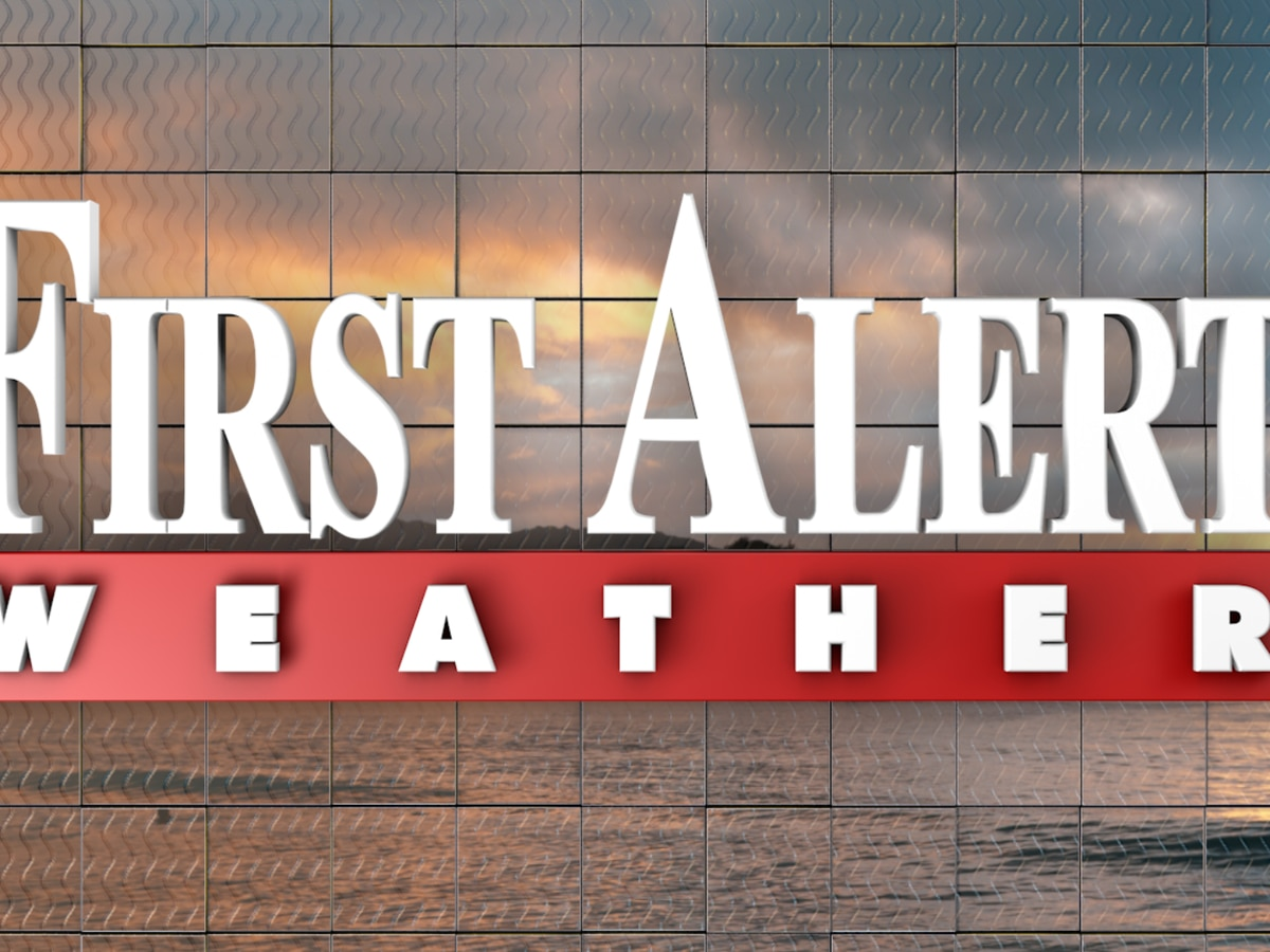 First Alert Forecast: consistently cool, rain chances to spike by week's end