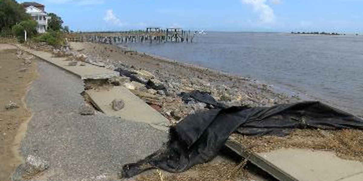 Southport recovers after Hurricane Isaias