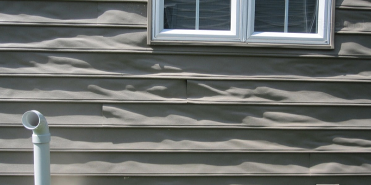 Reflection from low-energy windows creates enough heat to melt siding