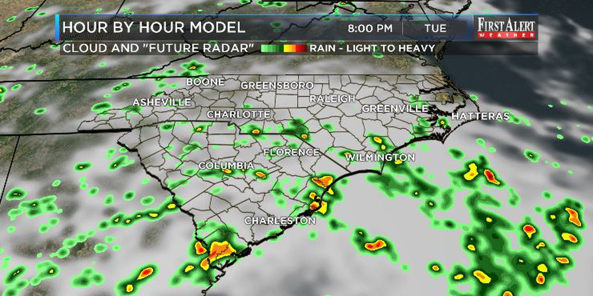 First Alert Forecast: tropical disturbance to enhance rain chances