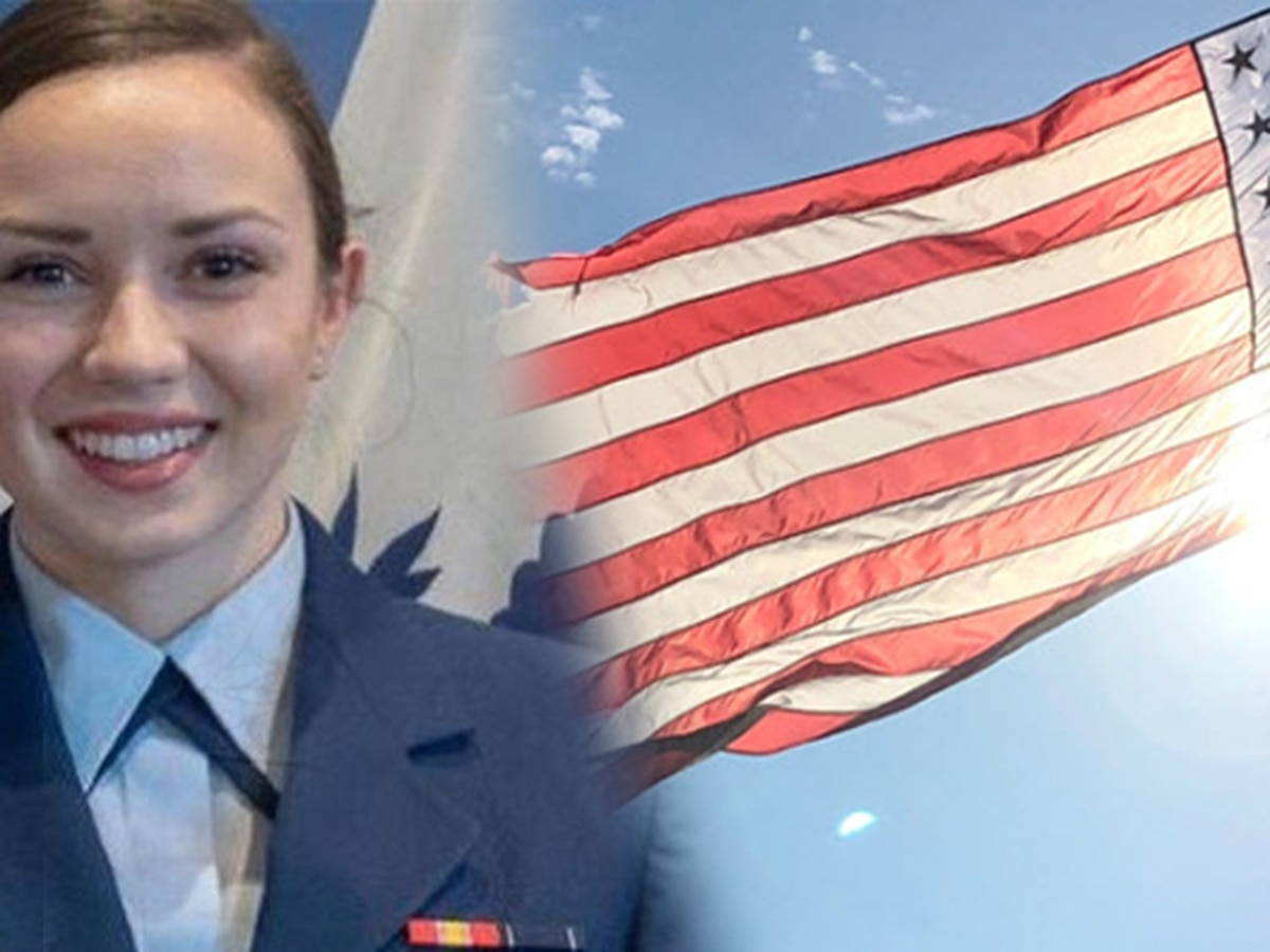 Flags to fly at half-staff for N.C. native Morgan Garrett, woman killed in Navy training plane crash