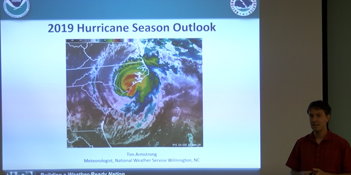 National Weather Service holds hurricane preparedness talk