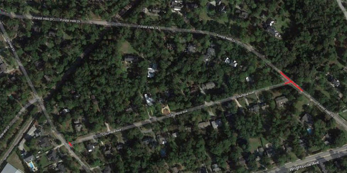 CFPUA: Portion of Forest Hills Dr. closed for water main repair
