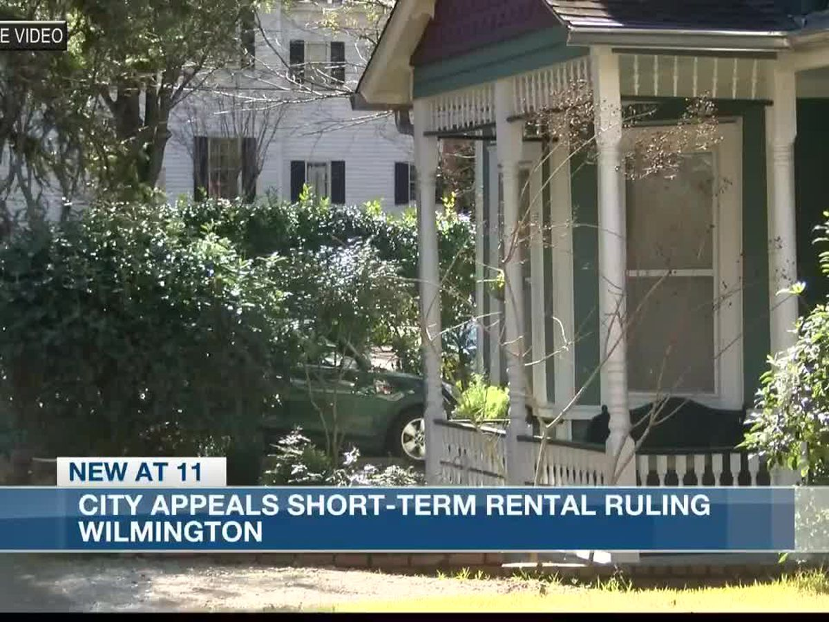 UPDATE: In response to ongoing lawsuit, Wilmington postpones discussion about short term rental rules