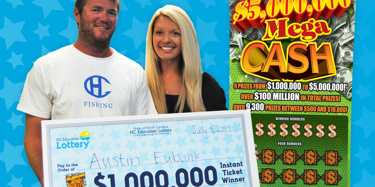 Nc lottery winner plans to help people and buy hunting gear