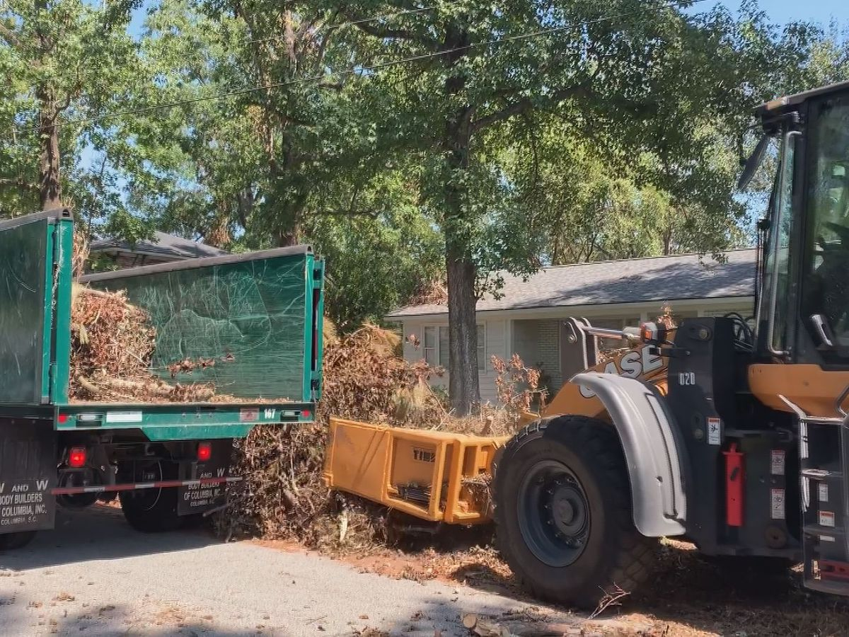 Pender County not offering storm debris collection; unable to accept LP gas tanks