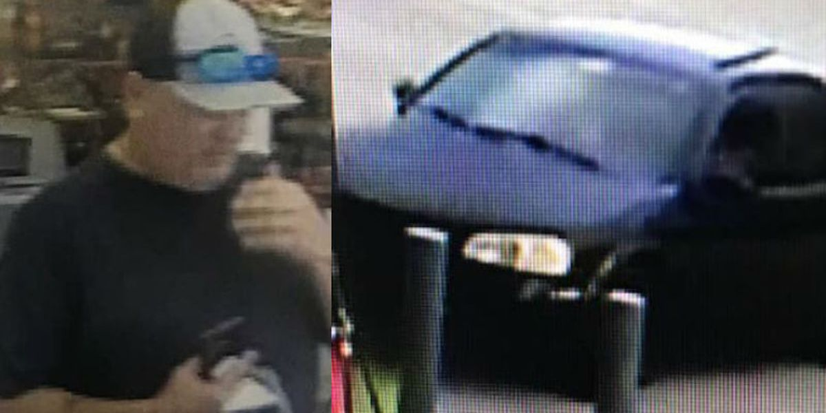 Sheriff's office asking for help in identifying man accused of stealing credit cards
