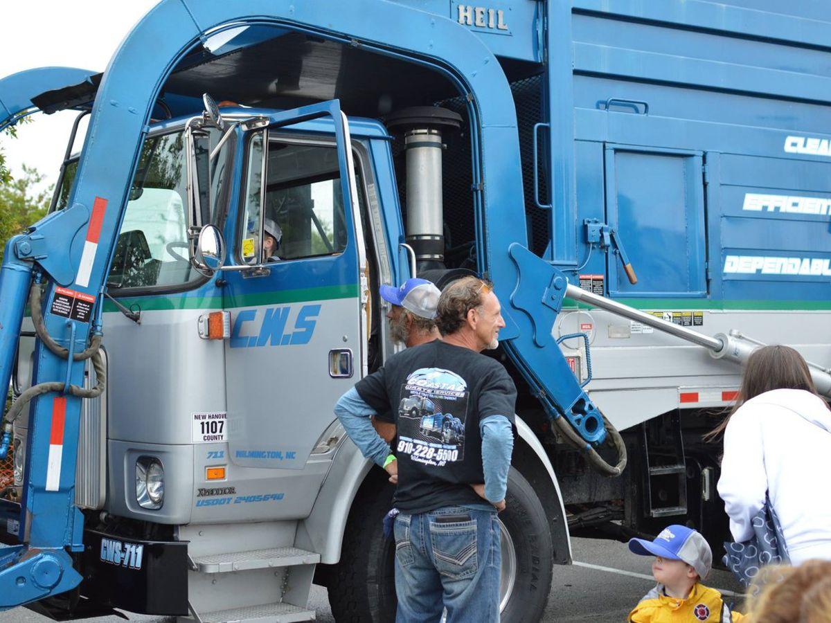 Touch-A-Truck event returns in a drive thru format