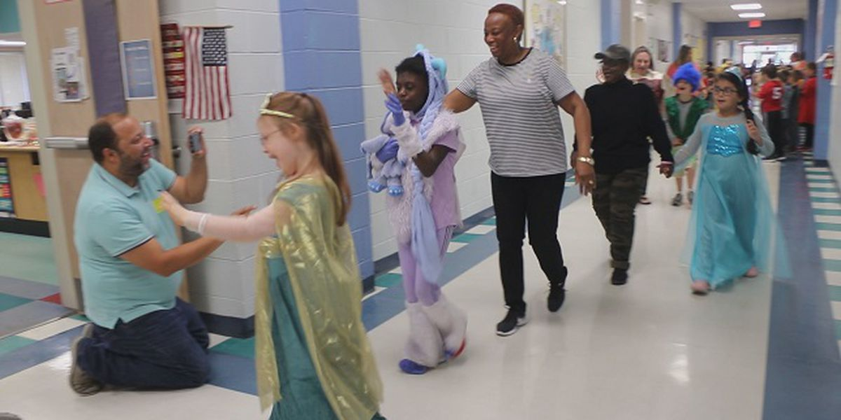 Codington Elementary holds sixth annual Halloween parade