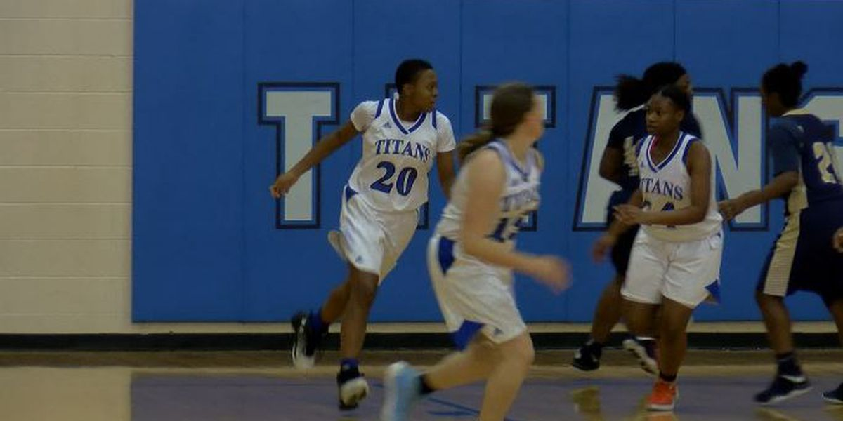 Trask High School's Anisa Lewis named WECT Athlete of the Week