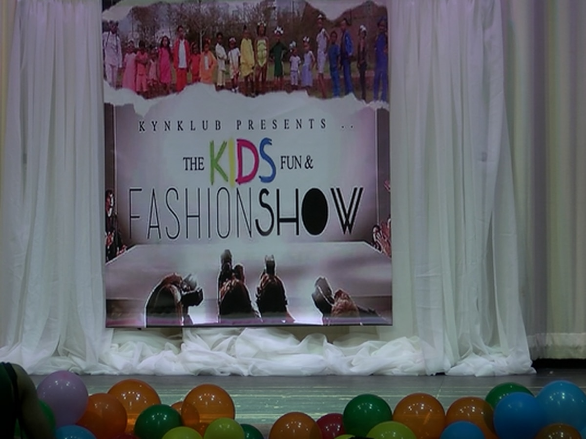Kids fashion show benefits missing persons