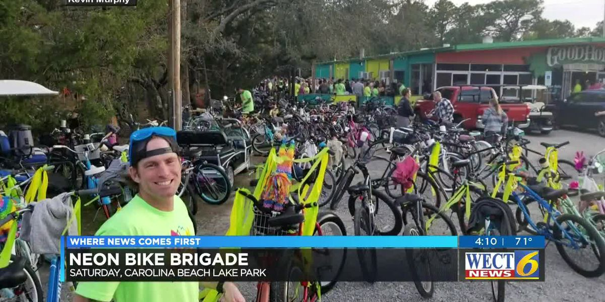 Neon bikes to light up the night in Carolina Beach for a good cause