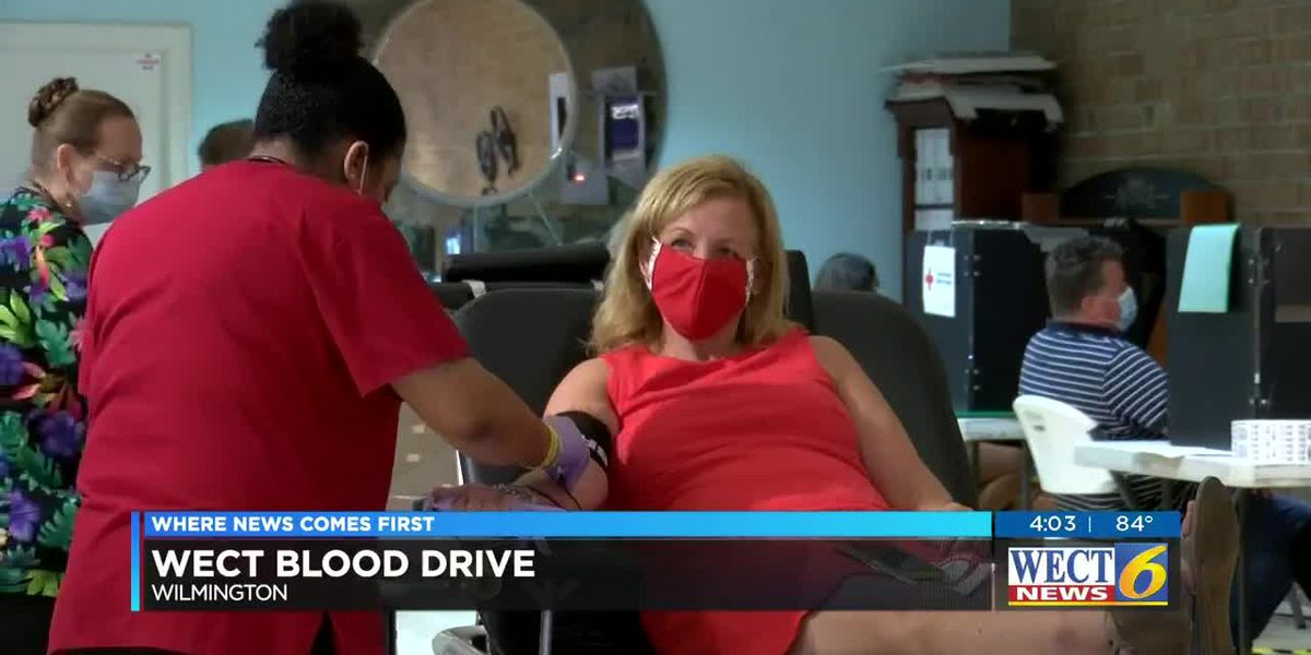 Dozens of donors answer the call to give blood in Wilmington