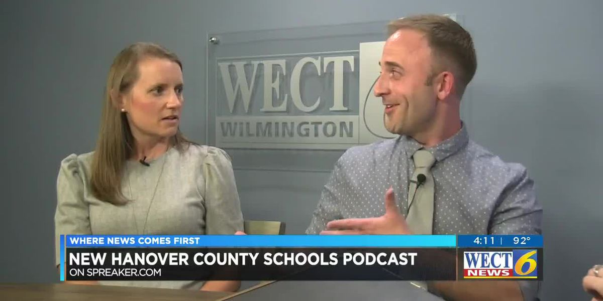 New Hanover County launches a podcast to connect teachers, students and parents