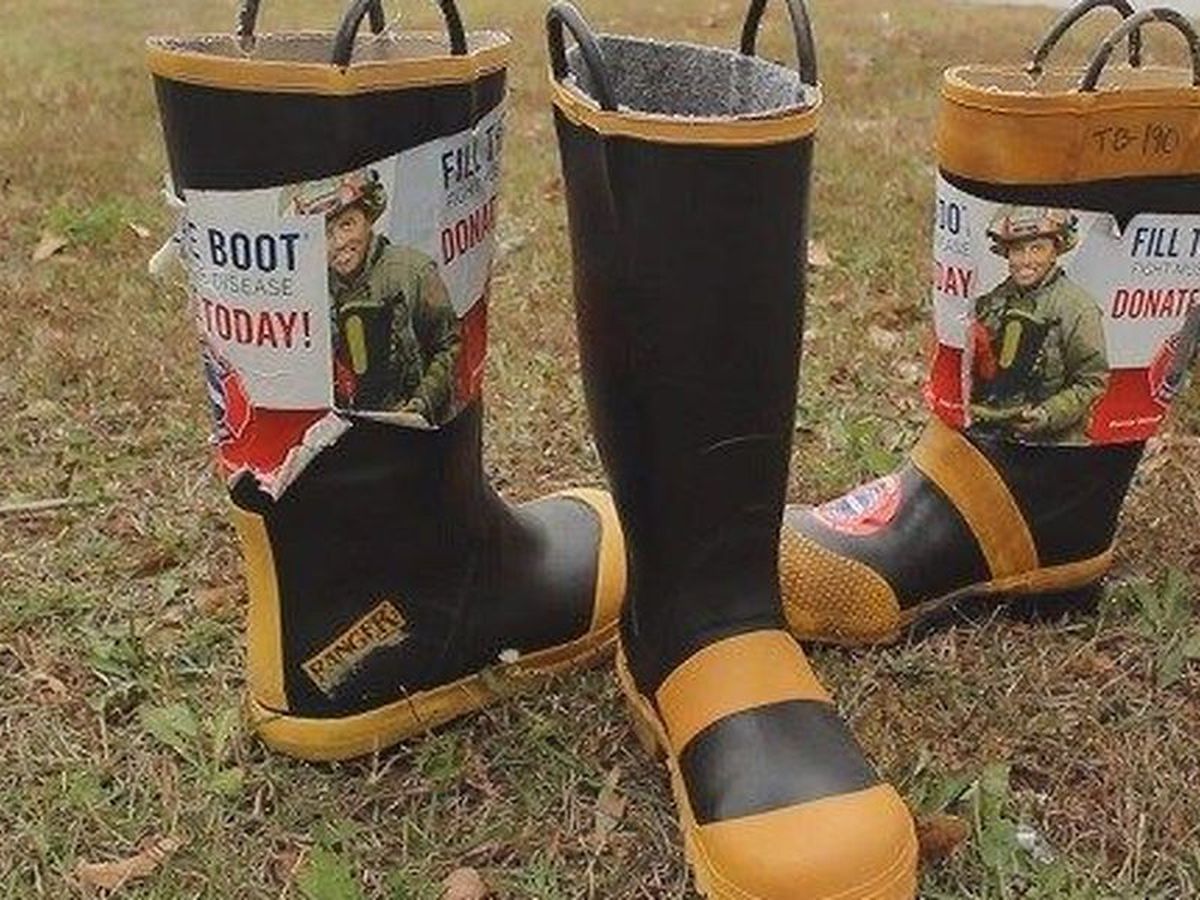 Firefighters hit the ground with boots in hand to raise money for MDA