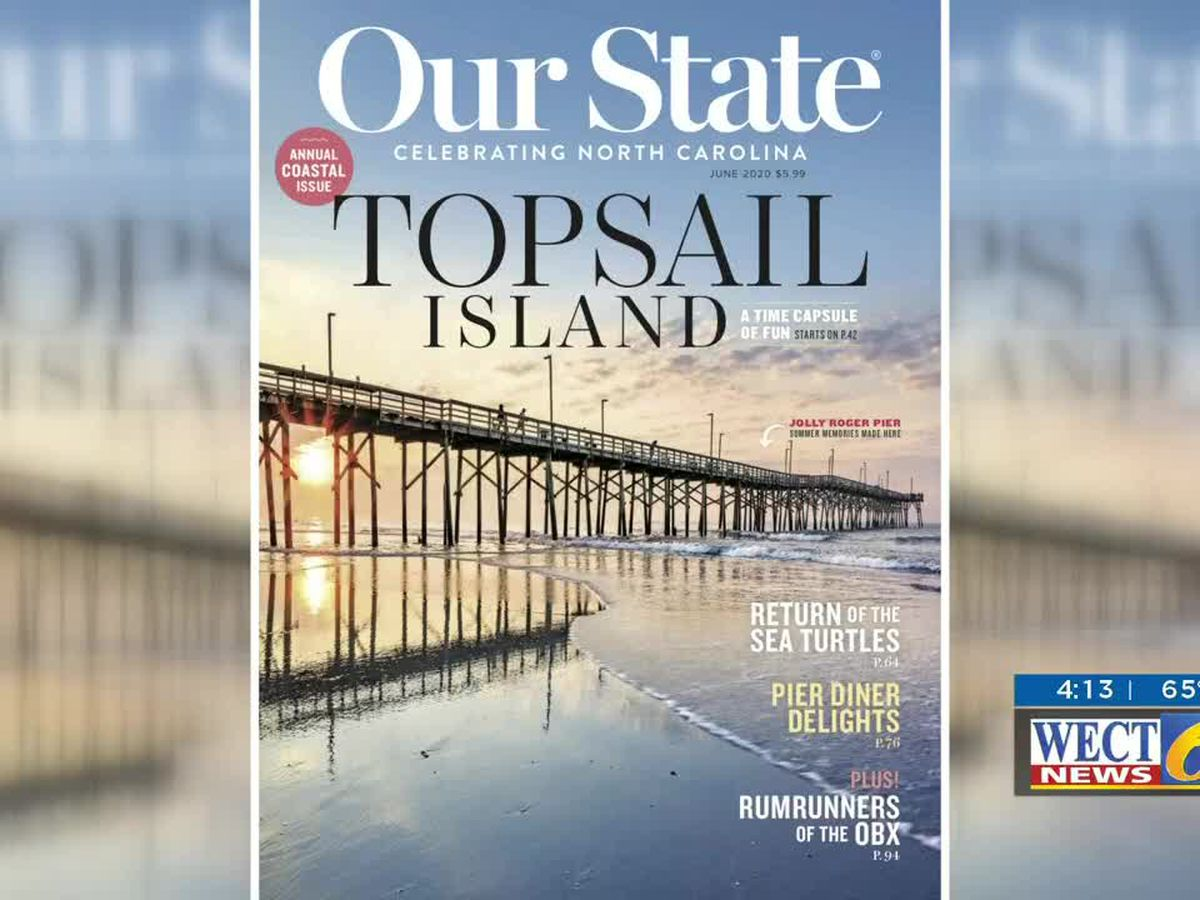 Topsail Island makes the cover of this month's 'Our State'