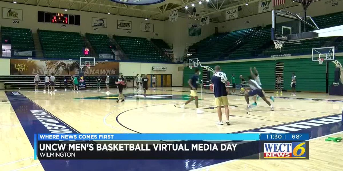 UNCW men's basketball team prepares for season