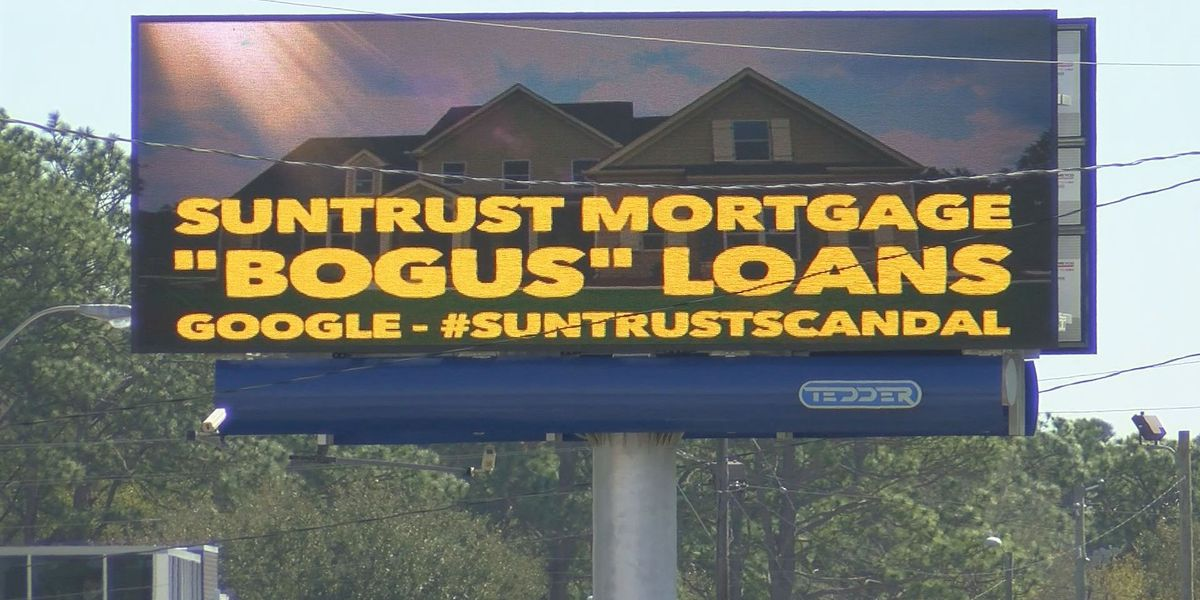 New billboard accuses mortgage company of fraud