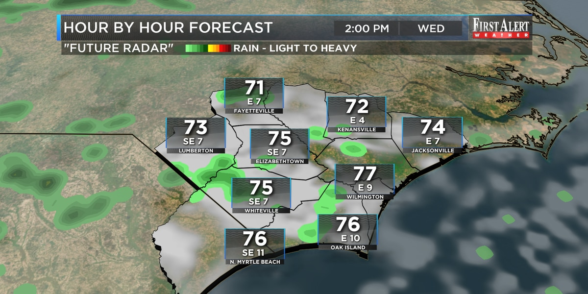 First Alert Forecast: unseasonably warm end to October