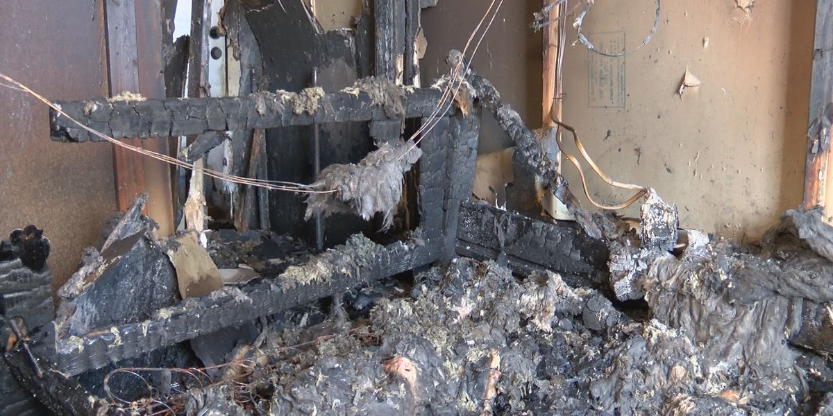 Valentine's Day fire destroys home, Leland family still displaced