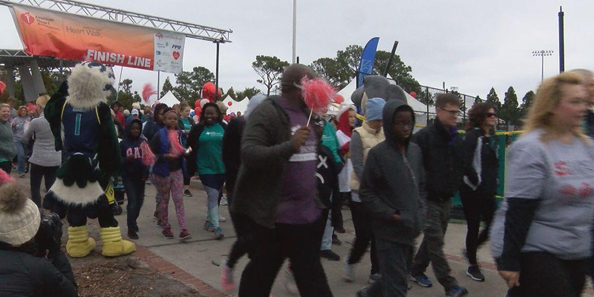 Uncw Hosts Cape Fear Heart Walk