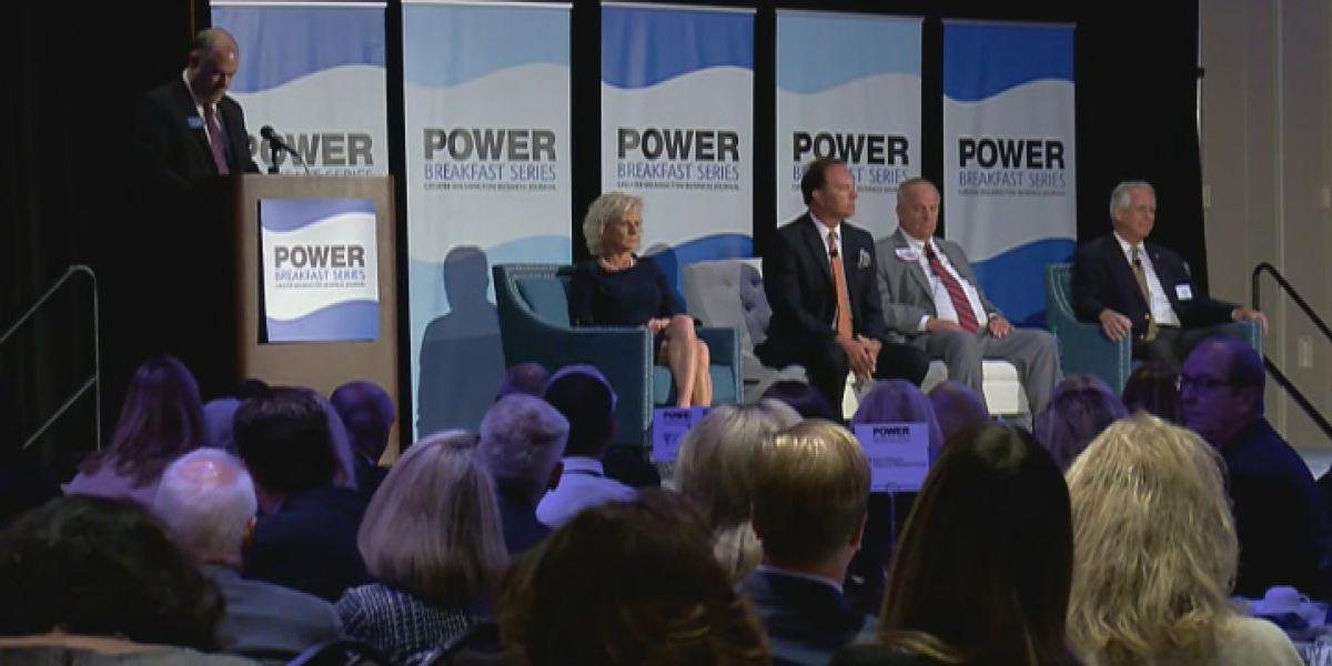 GenX, affordable housing dominate discussion at Power Breakfast