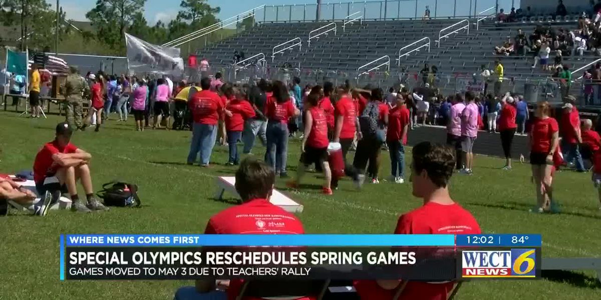 Special Olympics Spring Games moved to May 3 due to teachers rally