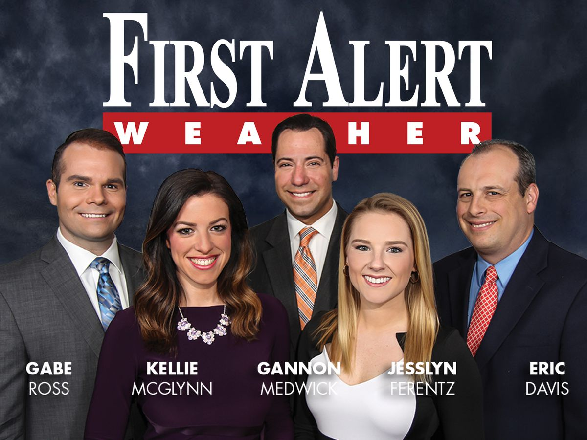 First Alert Forecast: dreary and damp weather continues but clearing midweek