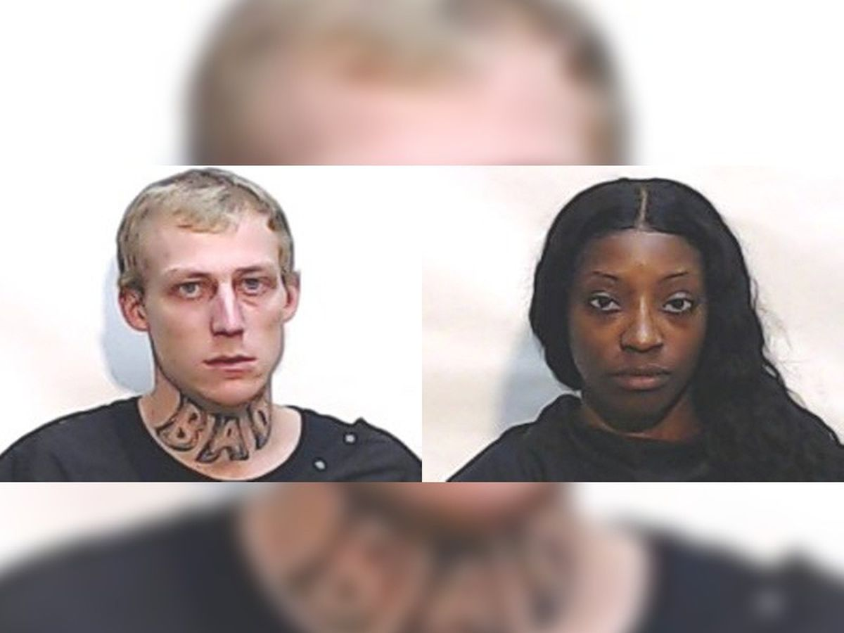 Columbus County Sheriff's Office arrest two after deputies were nearly struck by driver