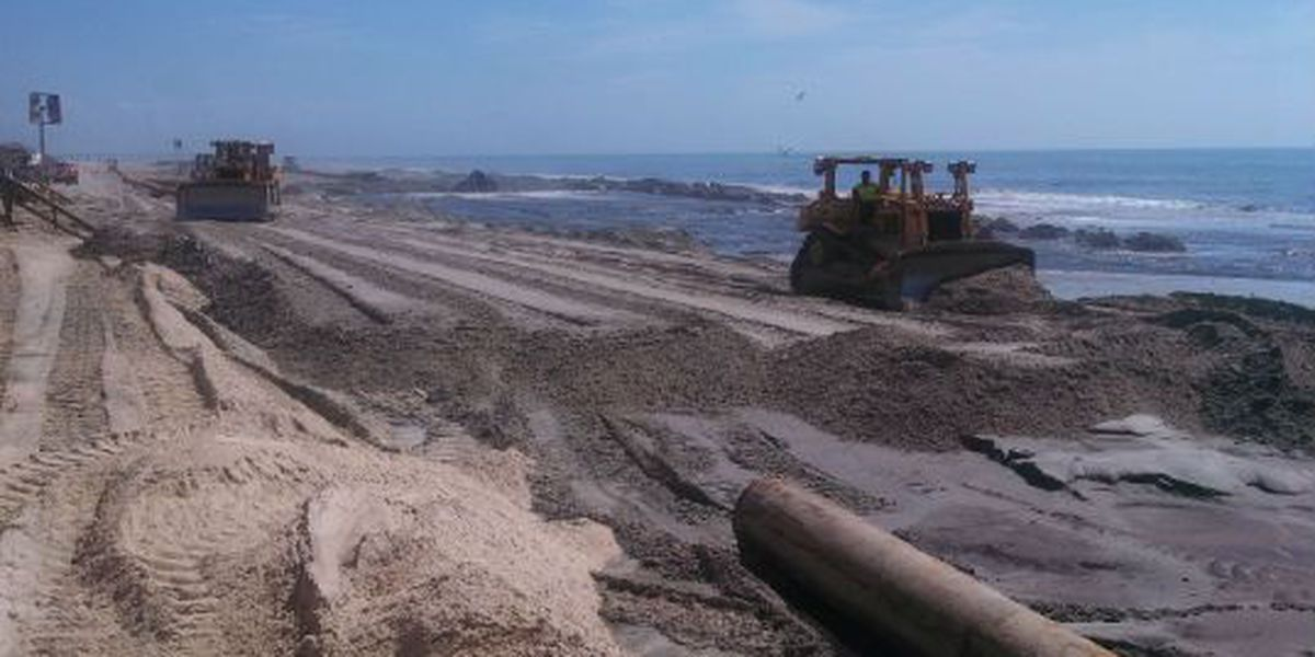 Beach renourishment funding included in stopgap funding bill passed by Congress